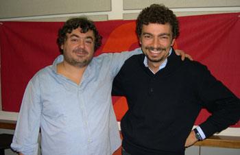 Luca Crovi e Massimo Polidoro a Radiodue