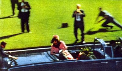 JFK shot in Dealey Plaza