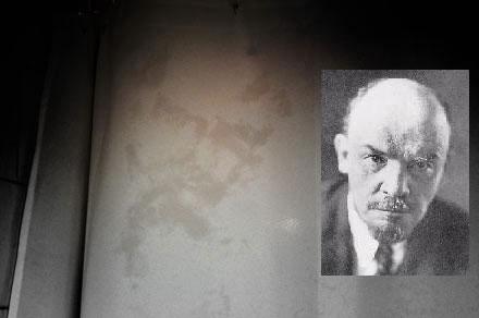 Lenin nella doccia