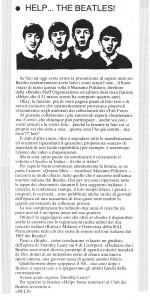 """Del club e relativa fanzine parlavano le riviste di musica dell'epoca, come """"Ciao 2001"""", """"Tutto Musica e Spettacolo"""", """"Boy Music"""", grazie alle quali Massimo riusciva a raggiungere sempre nuovi appassionati. Questa recensione risale al 1988."""