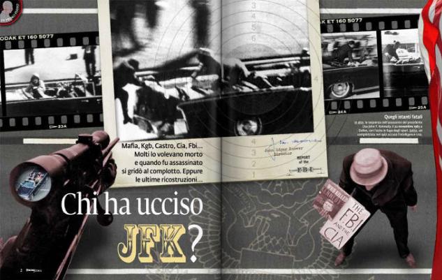 Chi ha ucciso JFK? Su Focus Storia (febbraio 2011).