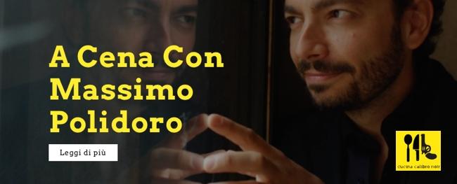 A cena con Massimo Polidoro: Cucina Calibro Noir, con Luca Crovi e Gigio Alberti, Milano 19 marzo 2015