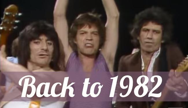 """The Rolling Stones """"Start me up"""", 1982 - Il passato è una bestia feroce"""