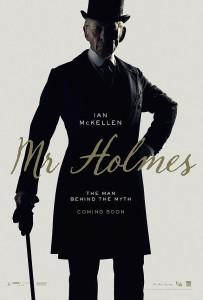 """Il poster per """"Mr Holmes"""", con Ian McKellen."""