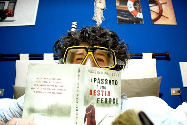 """Roberta Baria: """"In immersione"""" per """"Il passato è una bestia feroce""""..."""