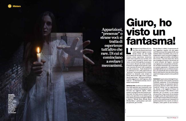 Indagine sui fantasmi: Massimo Polidoro per Focus