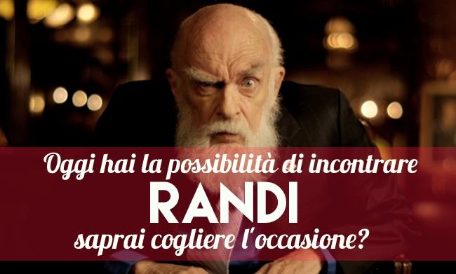 Incontra James Randi a Milano o Torino