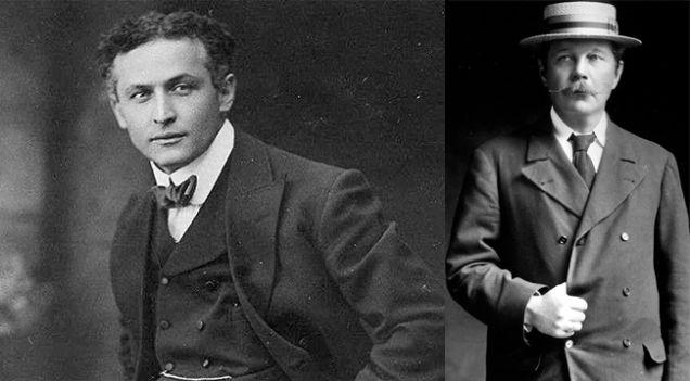 Harry Houdini & Arthur Conan Doyle