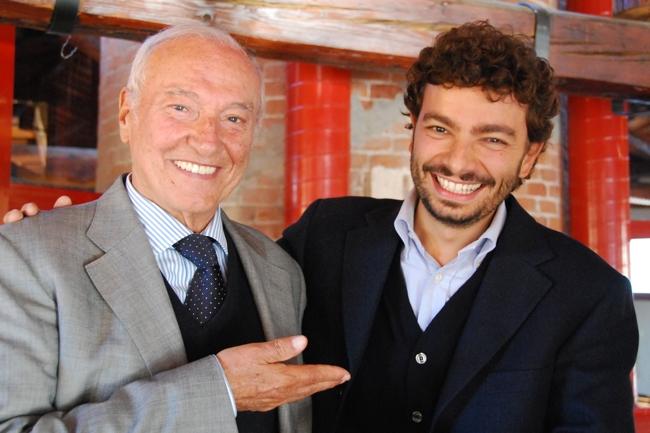 Piero Angela e Massimo Polidoro (Foto: Alberto Villa)