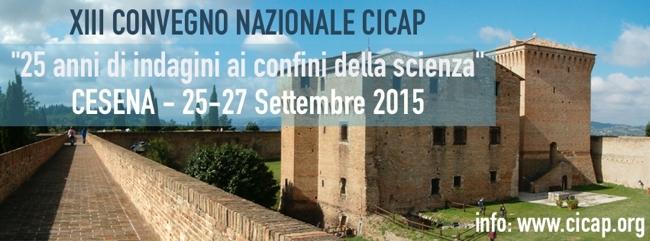 XIII Convegno nazionale del CICAP: Cesena 25-27 settembre 2015