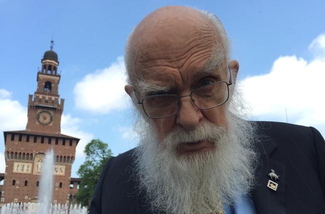 James Randi a Milano: il Castello Sforzesco