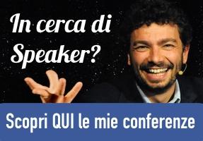 Scopri qui le mie conferenze