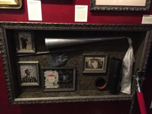 Cimeli spiritici al Museo dedicato a Houdini a New York.