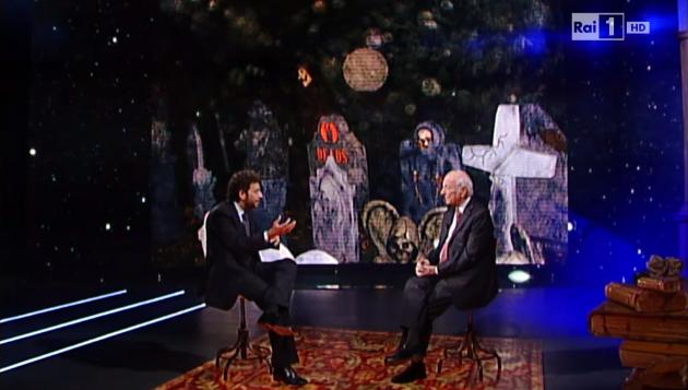 Piero Angela e Massimo Polidoro a Superquark