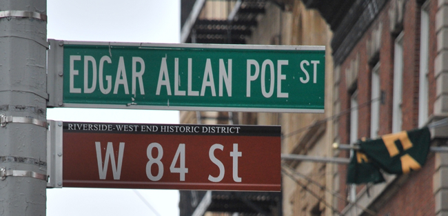 Edgar Allan Poe Street, New York (photo: Massimo Polidoro)