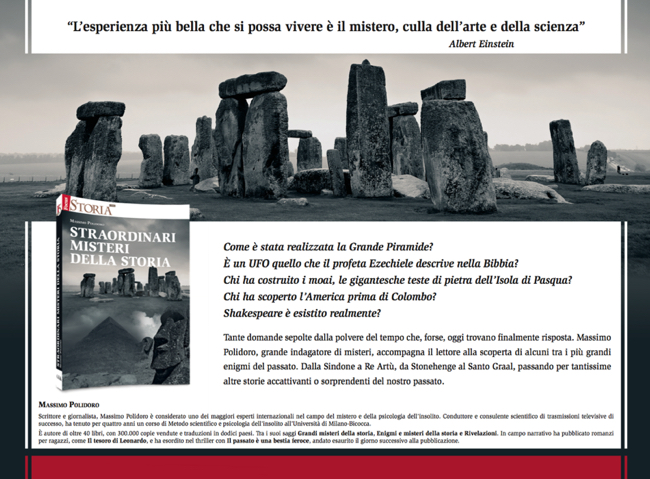 Straordinari misteri della storia - Massimo Polidoro