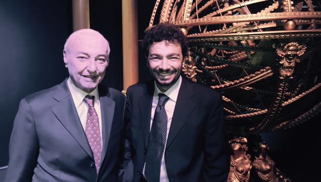 Piero Angela e Massimo Polidoro a Superquark (2015)
