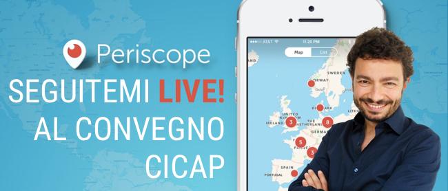 Massimo Polidoro su Periscope