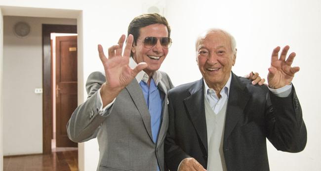 Piero Angela e Silvan al XIII Convegno CICAP (foto: Roberta Baria)