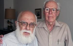 James Randi e Martin Gardner