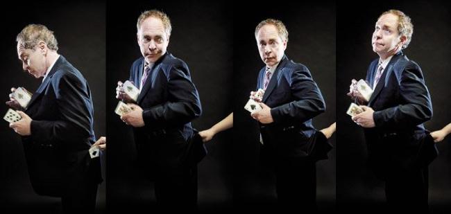 L'illusionista Teller (del duo Penn & Teller).
