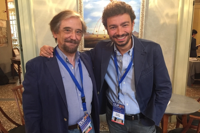 Luigi Garlaschelli e Massimo Polidoro