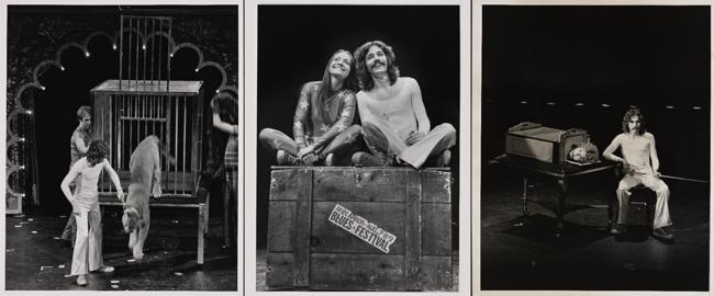 Alcune delle fotografie di Doug Henning in scena disponibili tramite la New York Public Library.
