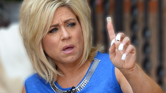 Theresa Caputo Fake