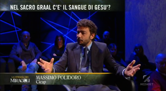 Massimo Polidoro a La strada dei miracoli rete4