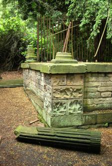 La presunta tomba di Robin Hood