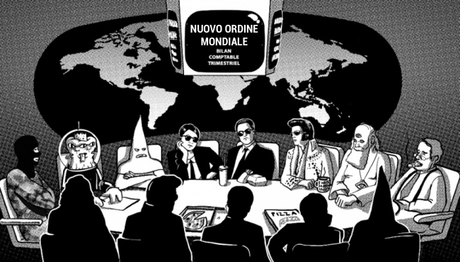 nuovo ordine mondiale - new world order - nouvel ordre mondial