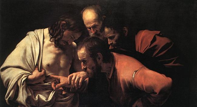 Caravaggio - San Tommaso - Incredulità