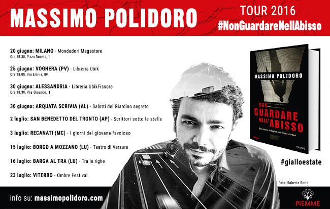 """Tour estivo """"Non guardare nell'abisso"""" Massimo Polidoro"""
