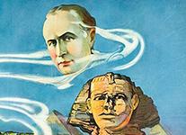 H.P. Lovecraft & Harry Houdini.