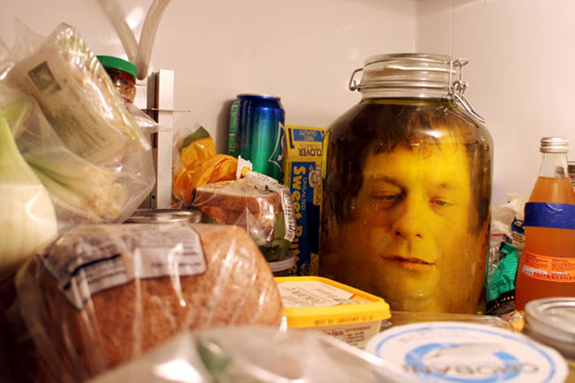 head in a jar stunt