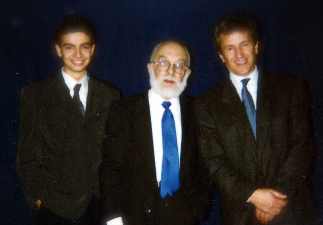 Massimo Polidoro, James Randi, Mino Damato