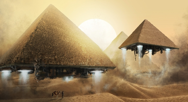 piramidi antichi astronauti