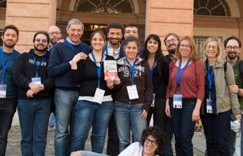 Un gruppo di partecipanti alla Squadra si è anche ritrovato a Cesena in occasione del Convegno del CICAP.