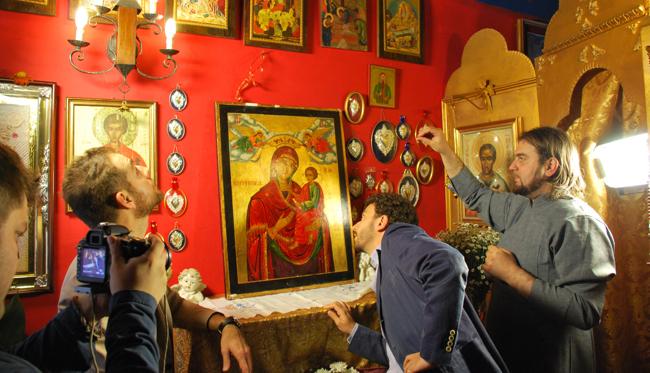 icona ortodossa San Nicola milano CICAP Massimo Polidoro Mistero