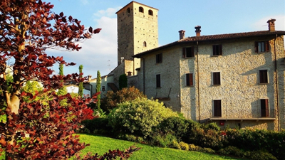 Il Castello Malaspina a Varzi, dove ci troveremo il 3 settembre.