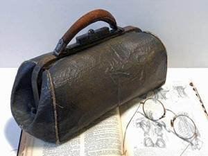 La misteriosa valigetta che sarebbe appartenuta a Jack lo Squartatore.