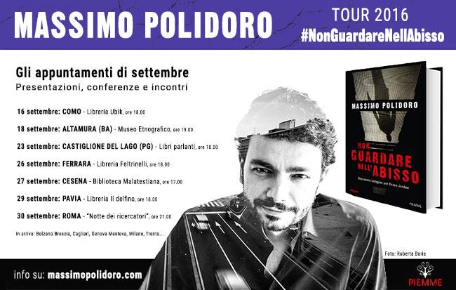 Massimo Polidoro tour 2016 Non guardare nell'abisso