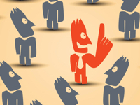 Making the Best Choice or Choosing the best Candidate : Concept Illustration
