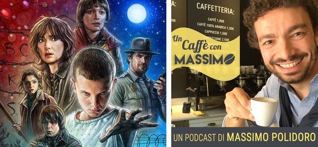 Massimo Polidoro - Un caffè con massimo - Stranger Things