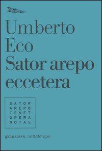 Il volumetto di Umberto Eco dedicato ai giochi linguistici.