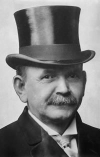 John Hetherington, l'inventore del cappello a cilindro.