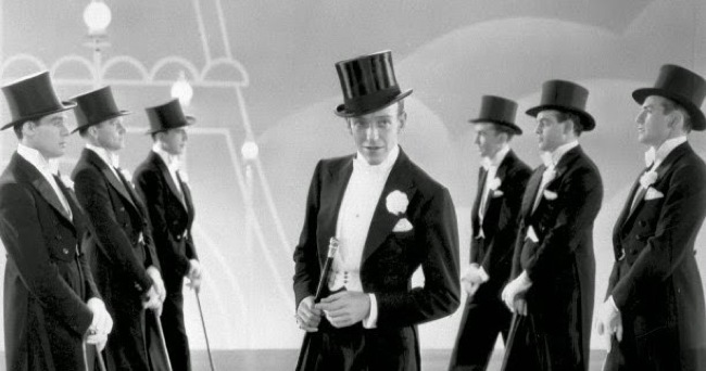 "Fred Astaire in ""Top Hat"""