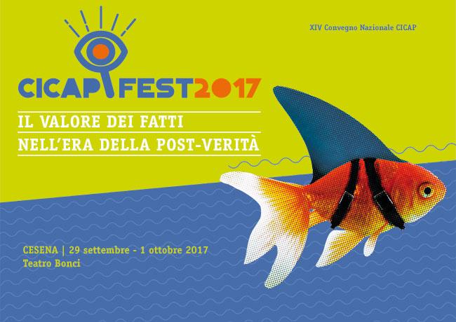 La locandina del CICAP-FEST in arrivo a Cesena dal 29 settembre 2017...